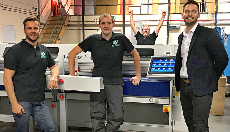 Barton Jones Packaging take box making in-house with Kolbus Autobox line